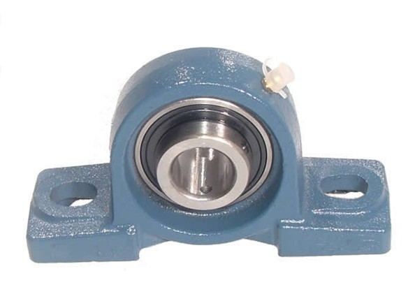 NP70  UCP214 BUDGET Two Bolt Cast Iron 70mm Bore Plummer / Pillow Block Housed Unit with Grub Screw